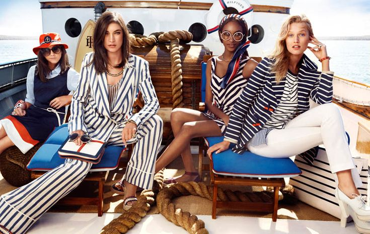 Tommy Hilfiger Taps Toni Garrn, Jacquelyn Jablonski and Jourdan Dunn for its Spring 2013 Campaign | Fashion Gone Rogue: The Latest in Editorials and Campaigns
