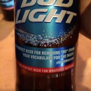 Bud Light sorry for 'rapey' beer slogan