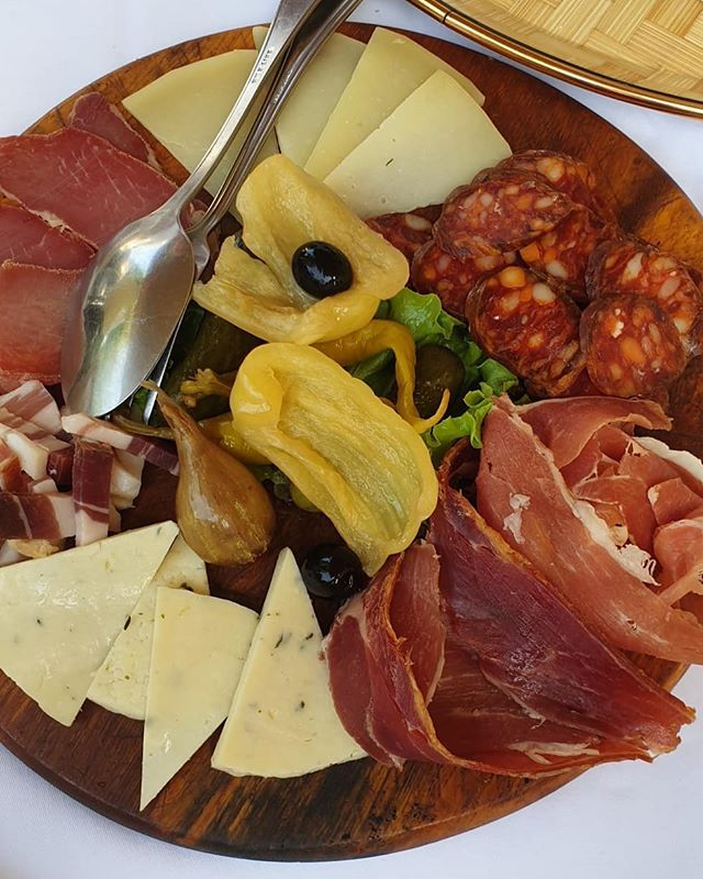 Lunch Was At A Traditional Croatian Restaurant It Was A Cheese And Meat Platter Of Local Lunch Was At A Traditional Cr Meat Platter Croatian Restaurant Lunch