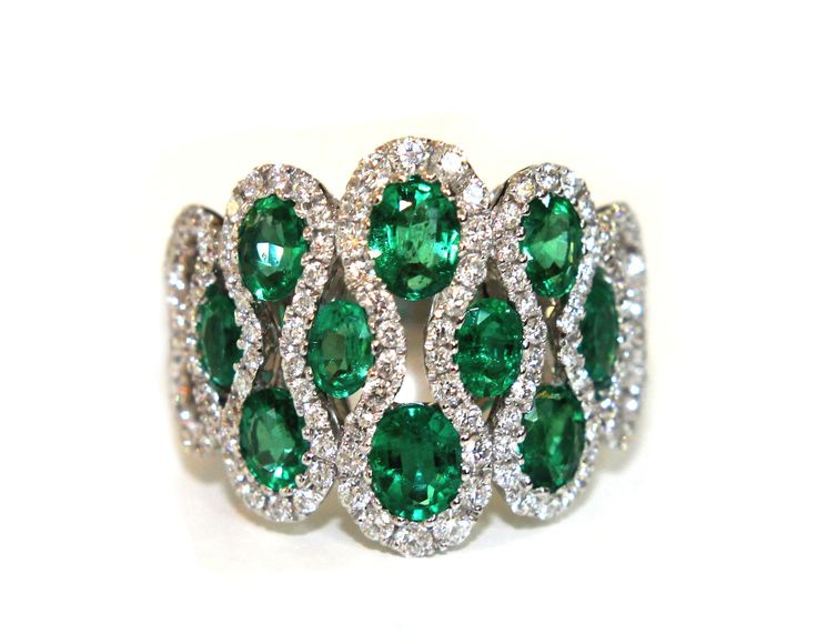 Campbell Emerald Oval Cut Ring 2.78ct from Campbell Jewellers