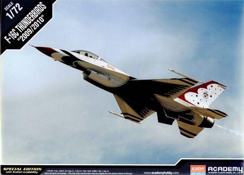 "Lockheed Martin F-16C ""Thunderbirds"". Academy, 1/72, injection, No.12429. Price: 18 GBP."