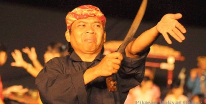 Culture contained in my hometown (Debus Banten)