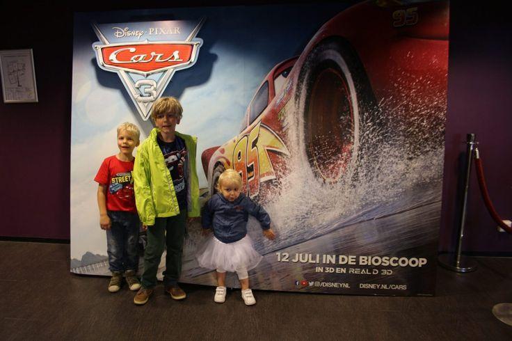 Naar het automuseum want: Cars 3 in de bioscoop!