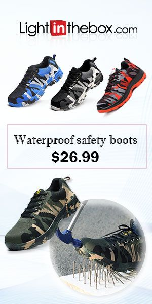 4f6521861d3 25.64] Work Safety Shoes Boots for Workplace Safety Supplies Casual ...