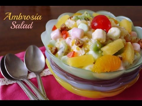 Salade d'ambroisie - Desserts - Ma Fourchette