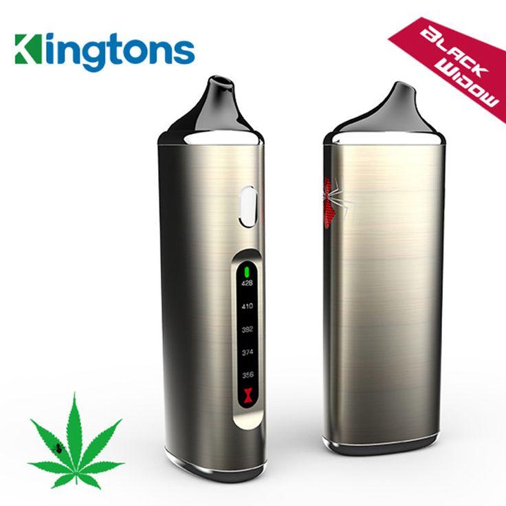 100% Oryginalny Kingtons Suche Zioła Zestaw Parownik Czarne okno e-papierosy Pathfinder Vape 2200 mAh e papieros Elektroniczny Papieros