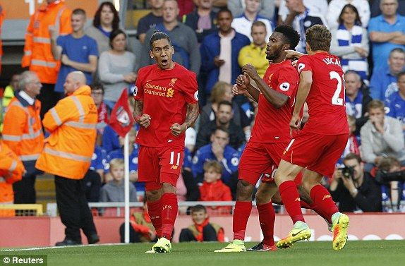 Liverpool 4-1 Leicester Premier League RESULT: Roberto Firmino nets double against the champions | Daily Mail Online