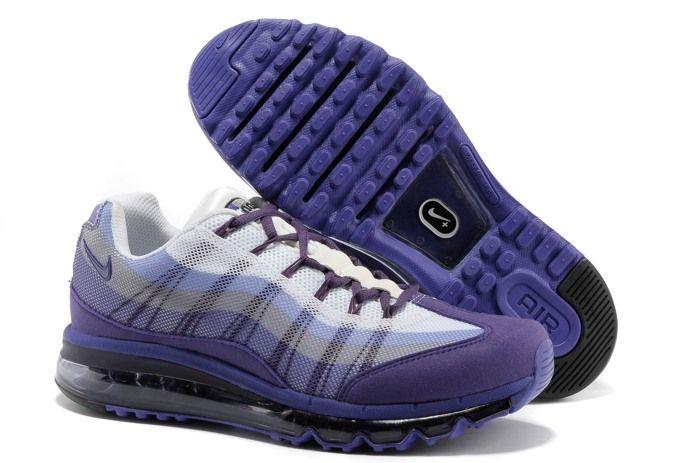 TYm0j Nike Air Max 95 360 Mens Shoes Wire Drawing Purple