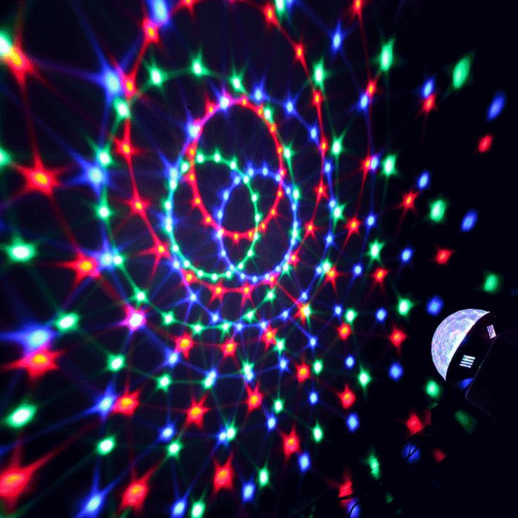 Sound-activate Rotating LED RGB Crystal Magic Ball Effect Light Disco DJ Stage Lighting  sc 1 st  Pinterest & 66 best LED stage lights images on Pinterest | Outdoor activities ... azcodes.com
