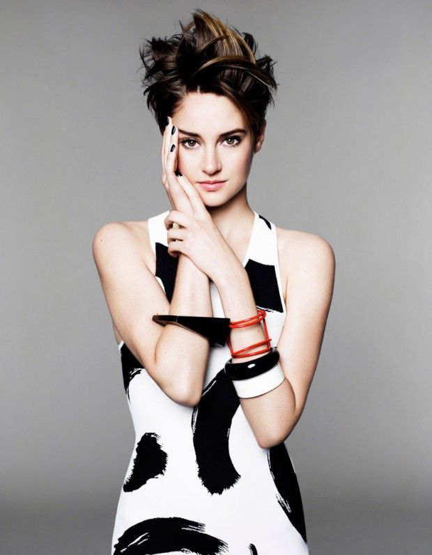 330 best hair beauty images on pinterest hairstyles for Shailene woodley coupe de cheveux