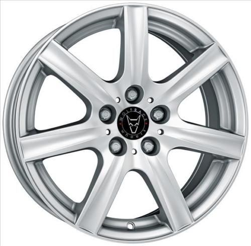 14 Inch WOLFRACE Davos 4x98 SILVER 4 Stud Alfa Romeo Alloy