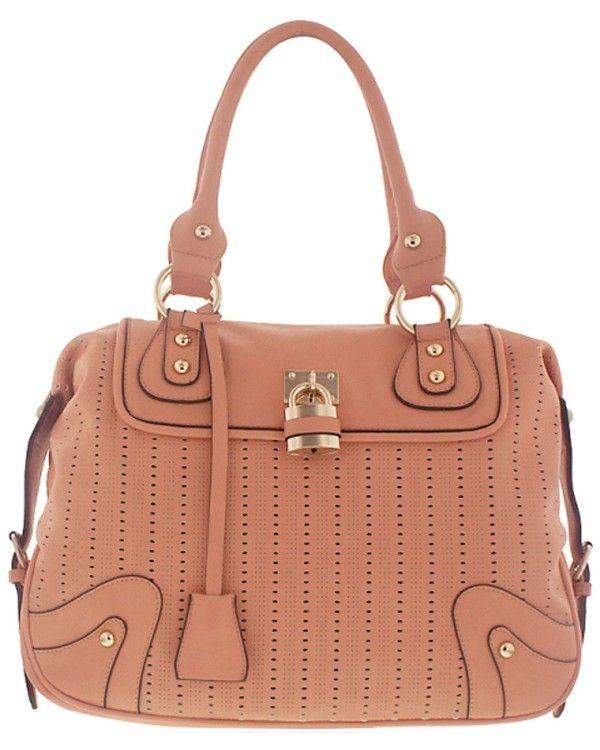 Melie Bianco Vegan Elizabeth Pink Handbag