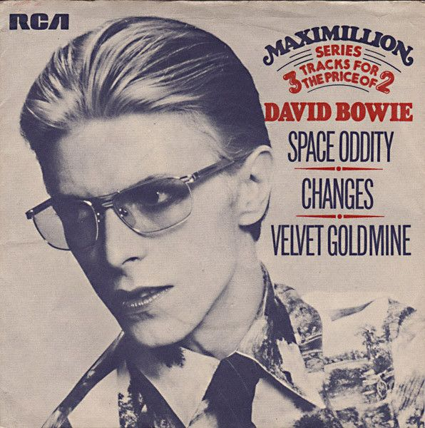 David Bowie - Space Oddity / Changes / Velvet Goldmine