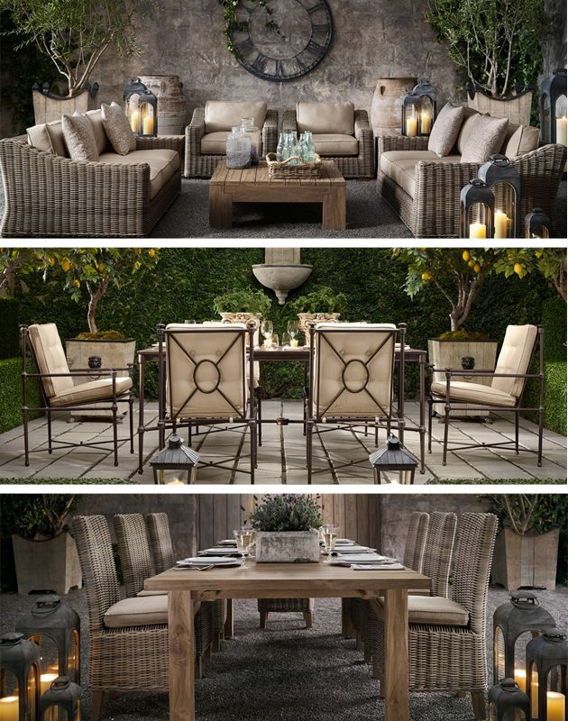 Wonderful Restoration Hardware   NEW COLLECTIONS Outdoor Furniture 2012 Part 28