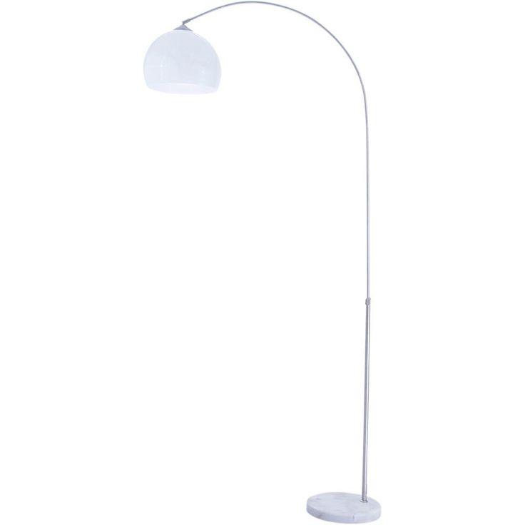 Luminária de Chão Arco Branca - Orb - Americanas.com