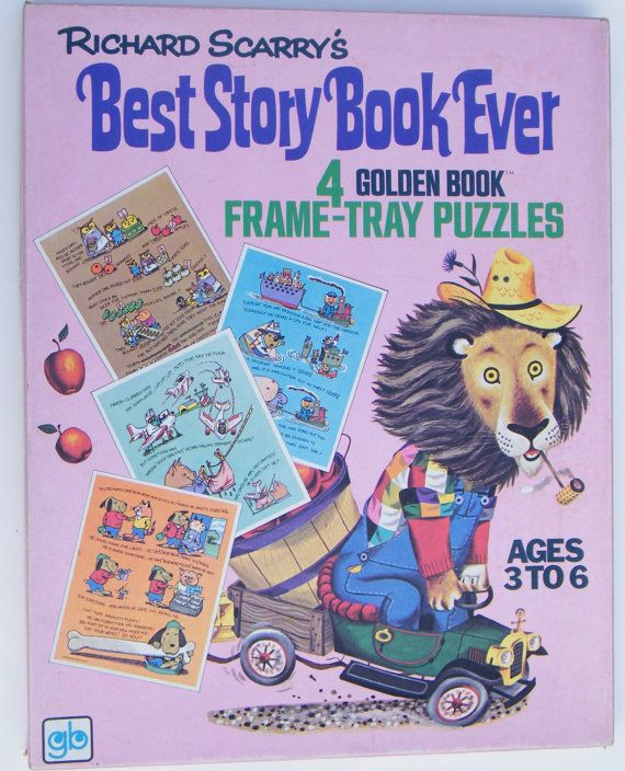 158 Best Images About Richard Scarry Books On Pinterest