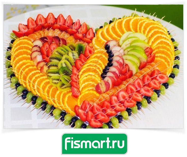 Идея для фруктовой нарезки 😍