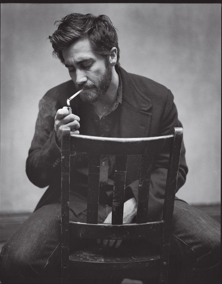 Jake Gyllenhaal #beard #facialhair #stash #men #rugged #manly #woodsman #lumberjack