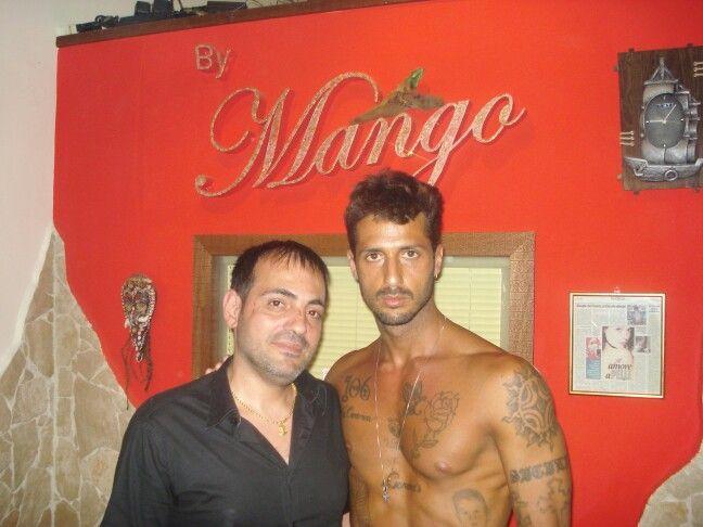 #fabrizio_corona #tattoomango