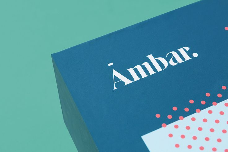 Ambar reveal a colorful, modern identity designed by By Futura.  Read more: http://mindsparklemag.com/design/ambar-branding-packaging/  More news: Like Mindsparkle Mag on Facebook