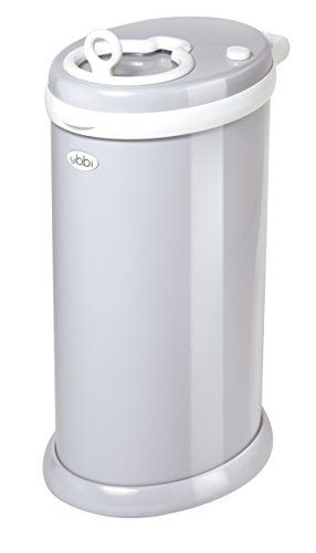 the best diaper pale ever you can use any bag and no smells leak out come in like 12 colors and you can lock it so the dogs can't get it open its Ubbi Diaper Pail, Gray, http://www.amazon.com/dp/B00821FLSU/ref=cm_sw_r_pi_awdm_WXARvb0SVG33H