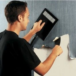 A professional wall paper stripper makes light work of stripping multi-layered wallpaper and even Artex