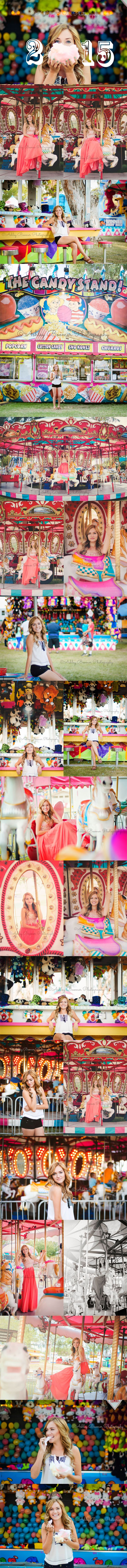 Ashley Boomer Photography | Carnival, Fair, Carousel, Whimsical, Senior Pictures | Fun, Colorful, Beautiful, Vibrant, Cotton Candy, High School, Photography, California Photographer