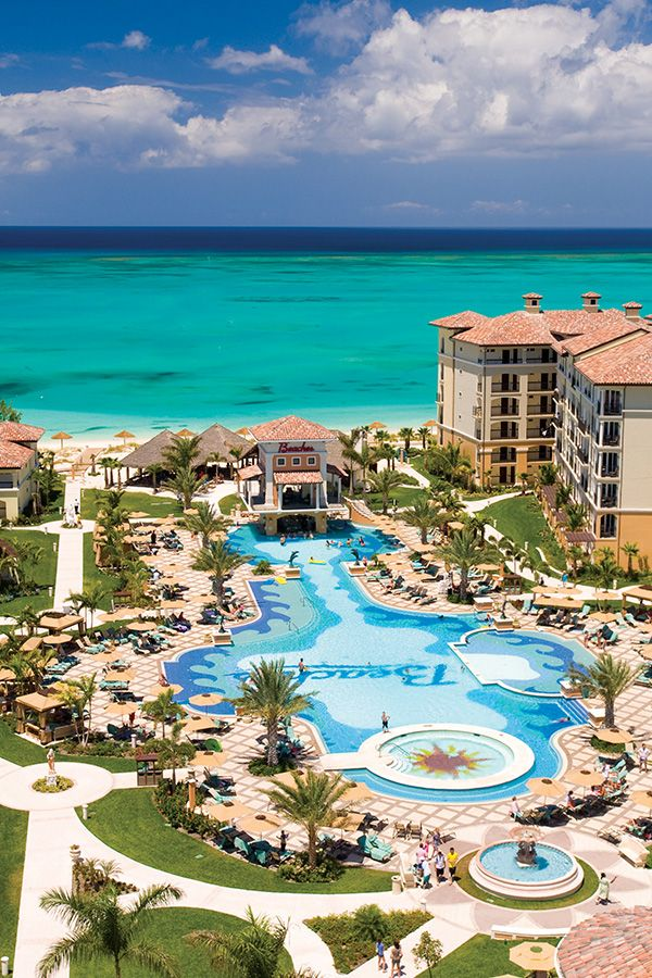 The Biggest Waterparks In The Caribbean Are At Beaches Resorts