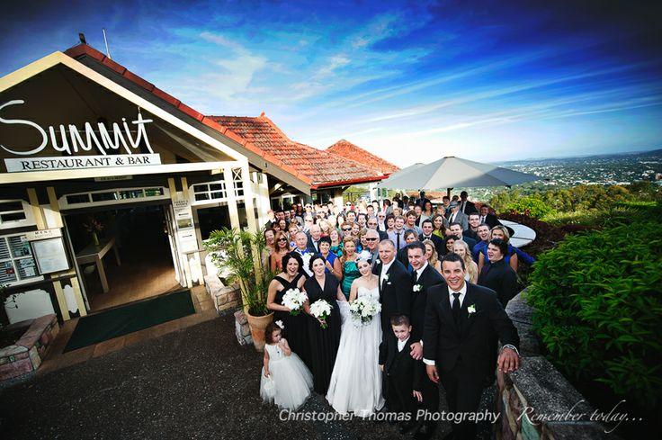 Brisbane Wedding Photographer, Christopher Thomas Photography, Summit Restaurant