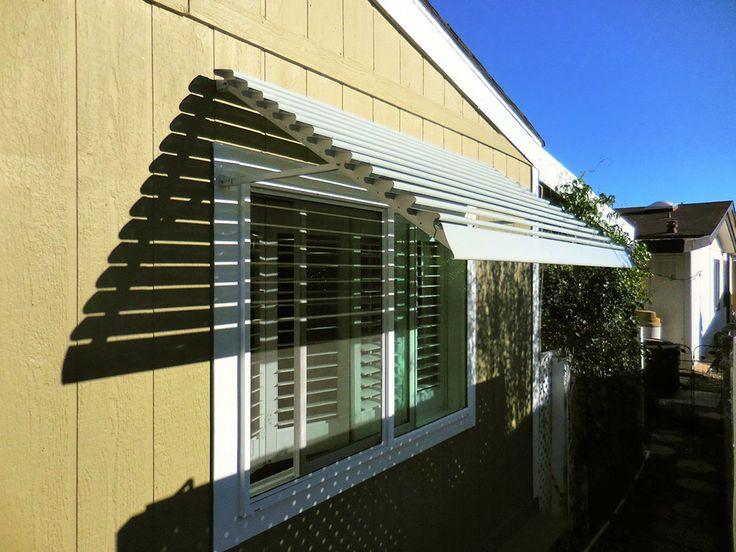 Aluminum awning replacement panels vacuum outdoor