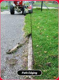 Walk-Behind Power Trencher & Power Lawn Edger, UK, Ireland, Eire