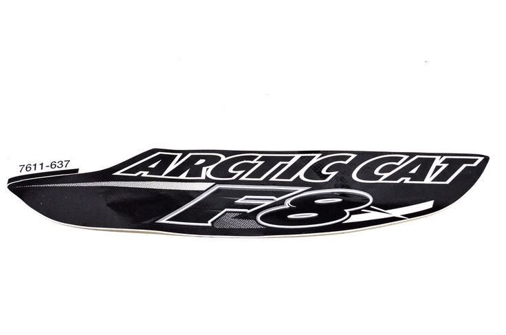 New OEM Arctic Cat Rear Fender Decal NOS | eBay Motors, Parts & Accessories, ATV Parts | eBay!