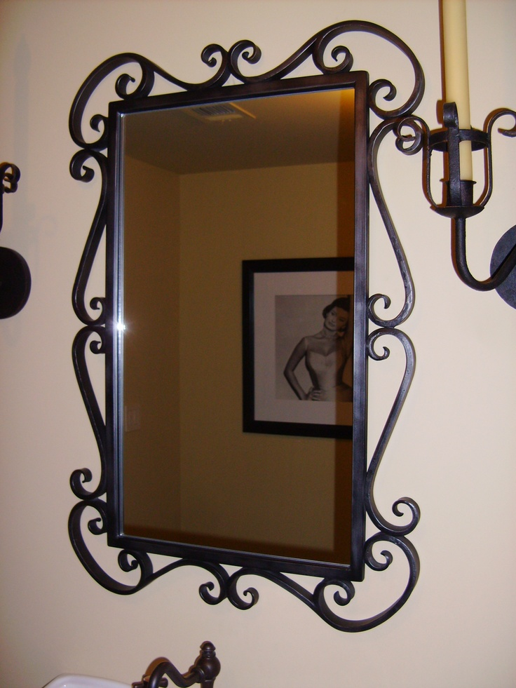 71 best espejos images on pinterest mirrors wrought for Espejos salon