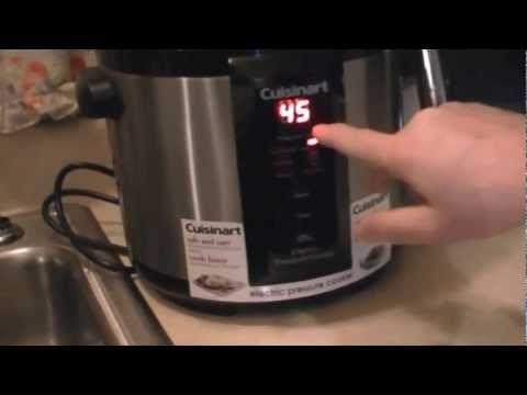 Cuisinart Digital Pressure Cooker Pulled Pork BBQ