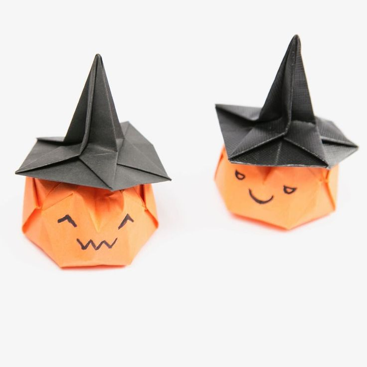 Origami Pumpkin for Halloween tutorial: https://youtu.be/J4EMukmf3XI #origami #pumpkin #halloween #origamipumpkin #jackolantern #tutorial #paper #paperkawaii #paperfolding #kawaii #cute