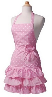 LOVE aprons!: Polka Dots, Baking Cupcakes, Vintage Aprons, Retro Apron, Breakfast Cupcakes, Hostess Aprons, Strawberries Shortcake, Dots Aprons, Pink Aprons