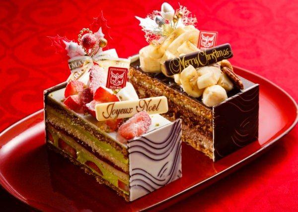 """""""クリスマスカラー""""のパイケーキで聖夜をお祝い"""