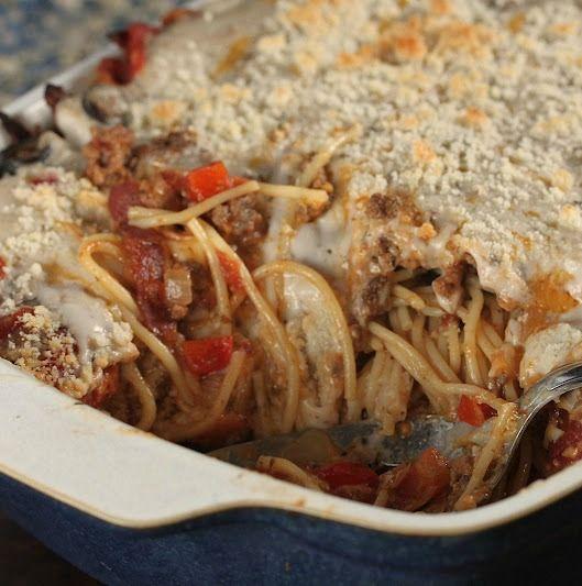 Trisha Yearwoods Baked Spaghetti (3)