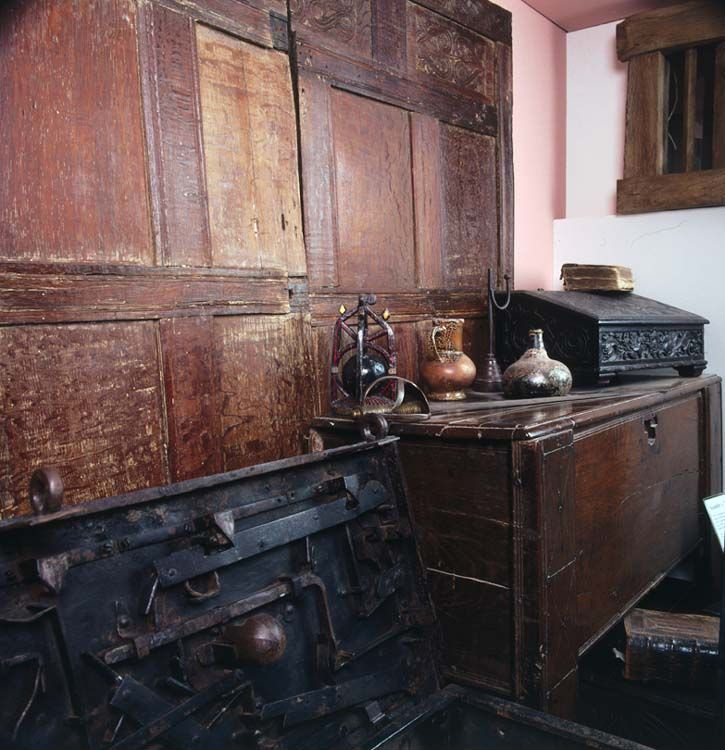 Furniture From A Tudor Period House, Abergavenny