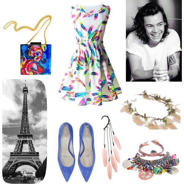 PASTEL CHIC WITH HAZZA by deepshikha-624 on Polyvore featuring Jigsaw and Venessa Arizaga