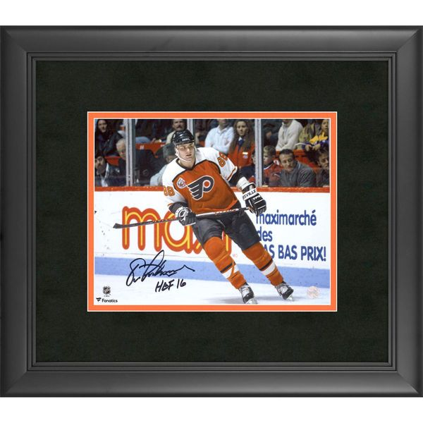 "Eric Lindros Philadelphia Flyers Fanatics Authentic Framed Autographed 8"" x 10"" Skating Photograph with HOF 2016 Inscription - $129.99"