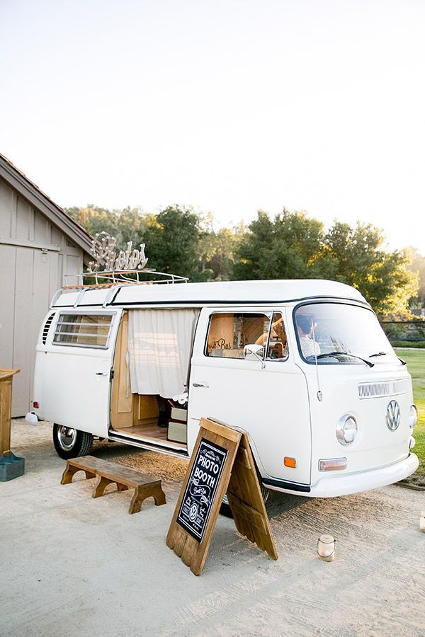 A VW photo booth. #photobooth