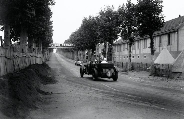 June 22, 1930, Le Mans: Woolf Barnato/Glen Kidston win for #Bentley. ©LAT