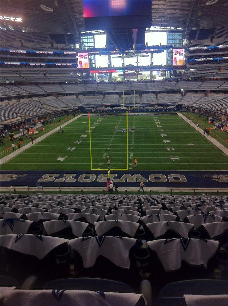 Cowboys stadium/ AT&T stadium!