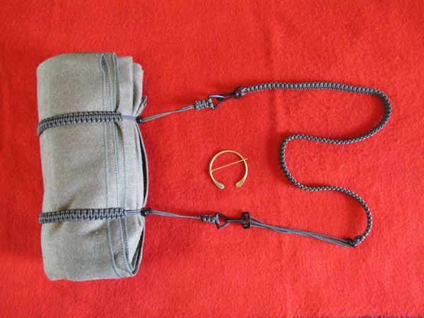 Wool Blanket Kit Includes 90 Wool Blanket Paracord Straps