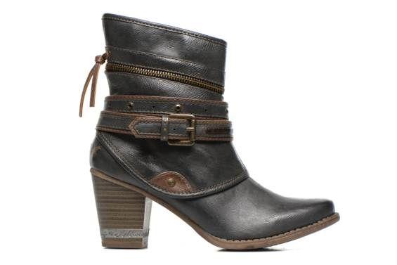 Bottines et boots Enlun Mustang shoes vue droite