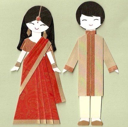 Paper doll India