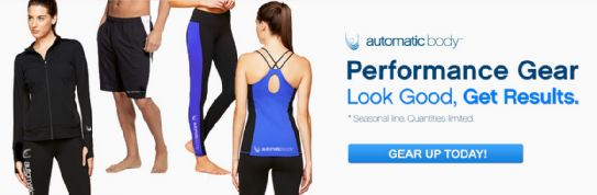 Look good, feel good, Automatic Body  Visit our Team Store today - http://nutrie.co/OGcfAp