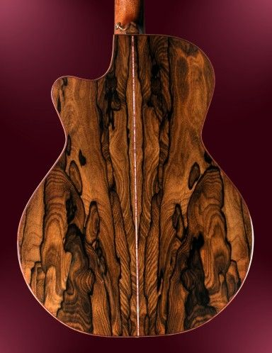 Ziricote wood! Natural beauty that I have to try using in something