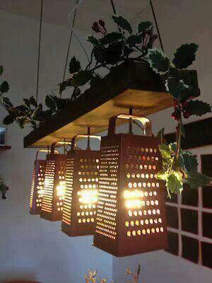 Cheese Geater Lights Kitchen Utensil Lighting Home Yourhomemagazine Sppons